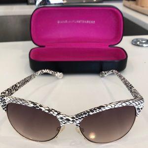 DVF Snakeskin sunglasses